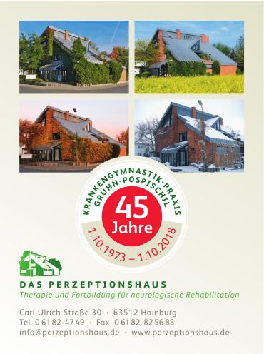 45 Jahre Krankengymnastik-Praxis Gruhn-Pospischil